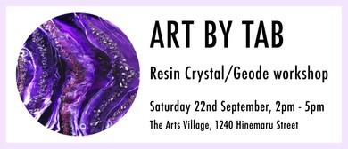 Resin Crystal/Geode Workshop