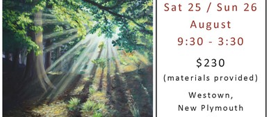 Acrylic Painting Workshop - Light Through Trees