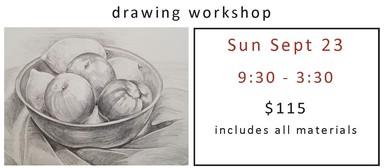 Drawing Workshop - Still Life, Fruit Bowl