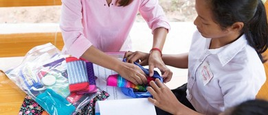 Drop In Workshop, Feminine Hygiene Kit Assembly