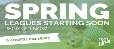 Spring 11 or 6 A Side Soccer - Football Leagues