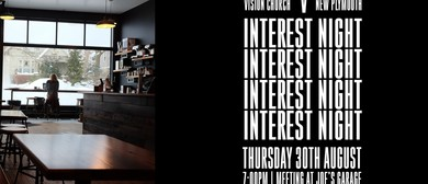 Interest Night (Young Adults)