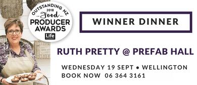 Ruth Pretty's Outstanding Winner Dinner