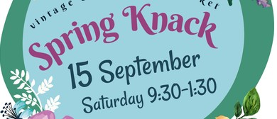 Spring Knack Craft and Retro Market