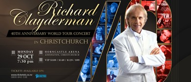 Richard Clayderman 40th Anniversary World Tour Concert