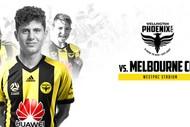 Image for event: Wellington Phoenix VS Melbourne City FC