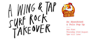 Tap, Wing & Surf Rock Takeover