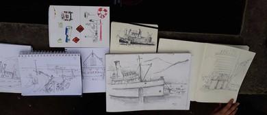 25 Sketch-a-Walk in Akaroa