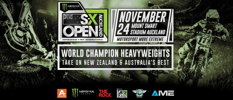 Monster Energy S-X Open - Auckland - Eventfinda