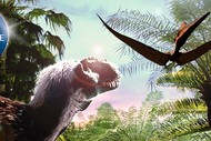 Image for event: Dinosaurs At Dusk