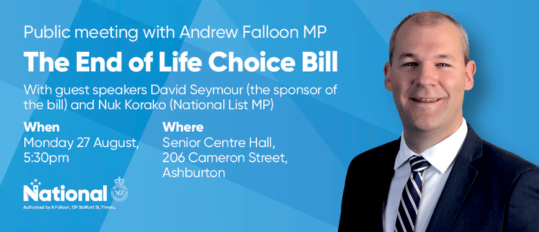 End of Life Choice Bill Meeting