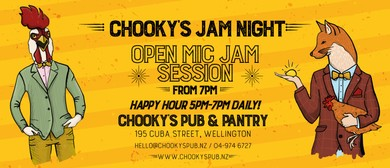 Chooky's Open Mic Night