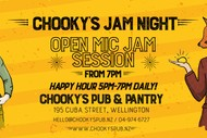 Image for event: Chooky's Open Mic Night