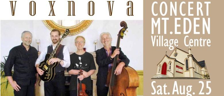 Voxnova Gypsy Jazz Concert: CANCELLED