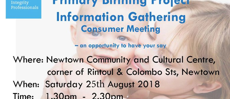 Primary Birthing Project - Come and Have Your Say