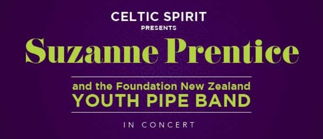 Suzanne Prentice & The Foundation NZ Youth Pipe Band