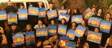 Mixing It Up Painting Events - Wine & Paint Experience