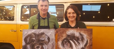 Mixing It Up Painting Events - Paint Your Pet Experience