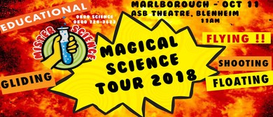 Mr Science Magical Science Tour