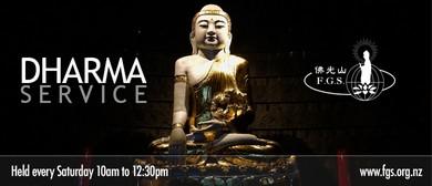 Weekly Dharma Service