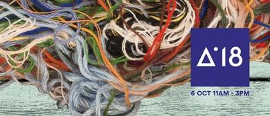 Artweek - Walk the Yarn Bombed Laneways In Parnell