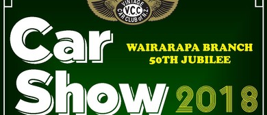 Wairarapa Vintage Car Club 50th Jubilee Car Show