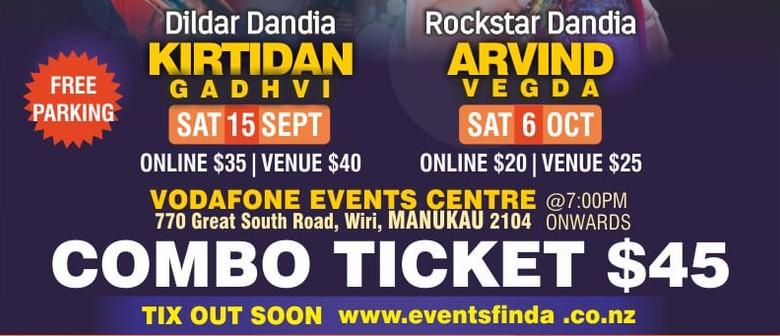 Rockstar Dandia by Arvind Vegda: CANCELLED