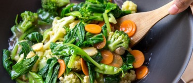 Chinese Vegetarian Cooking Class