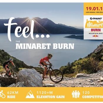 Giant Minaret Burn Mountain Bike