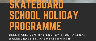 School Holiday Skateboard Programme