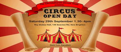 Circus Open Day