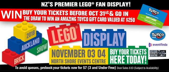 Auckland Brick Show – NZ's Largest LEGO® Fan Display