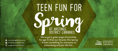 Spring Holiday Teen - Unplugged and Plugged Gaming
