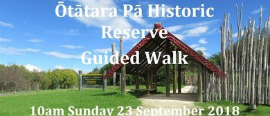 Ōtātara Pā Historic Reserve - Guided Walk