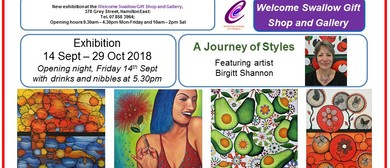Art Exhibition - A Journey of Styles