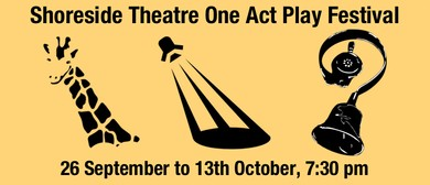 Shoreside Theatre - A One Act Play Festival