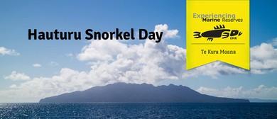 Hauturu Snorkel Day