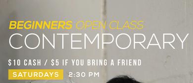 Open Beginner Contemporary Classes