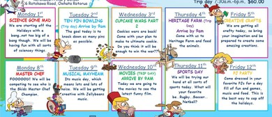 Skids Rotokawa October Holiday Programme
