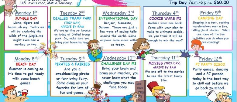 Skids Matua October Holiday Programme