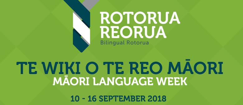Toitū Te Reo Māori Language Expo