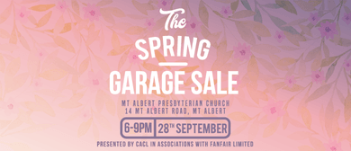 CACL - Community Church Spring Garage Sale