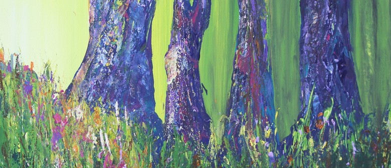Acrylic Painting Workshop - Pathways and Palette Knives