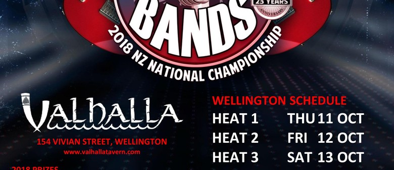 Battle of the Bands 2018 National Championship - WLG Heat 3