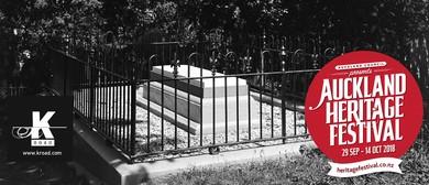 Auckland Heritage Festival: Symonds Street Cemetery Tour