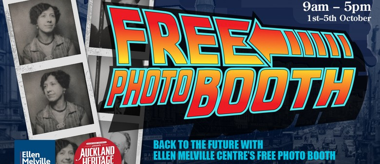 Auckland Heritage Festival - EMC Free Photo Booth