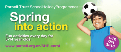 Dragon Quest Mini Golf - Parnell Trust Holiday Programme