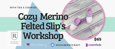 Workshop: Foldable Merino Wool Slippers