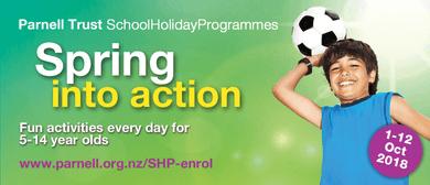 Inside Eden Park - Parnell Trust Holiday Programme
