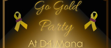 Go Gold Party: CANCELLED